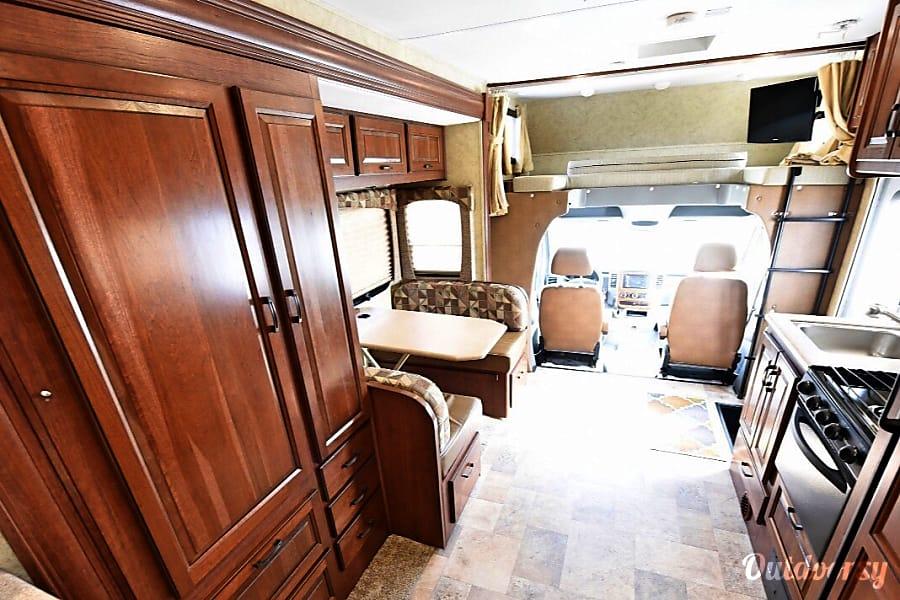 interior 2013 Forest River Solera 24S Mercedes Benz Sprinter Seattle, WA