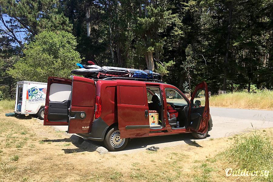 2018 Ram Promaster City Tradesman Wayfarer Camper Motor