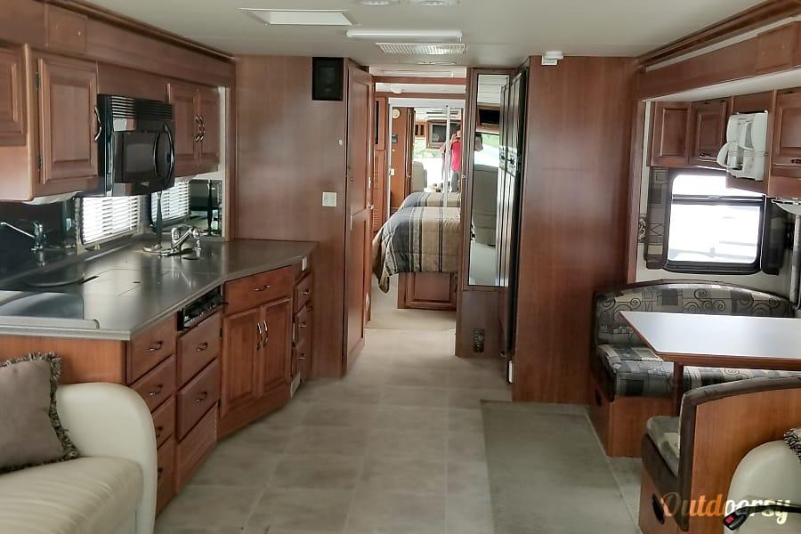 interior Fleetwood Discovery Sunapee, NH