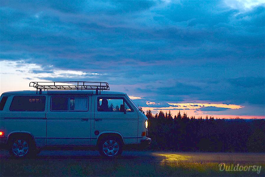 exterior 1986 Volkswagen Vanagon CamperVan Hoboken, NJ