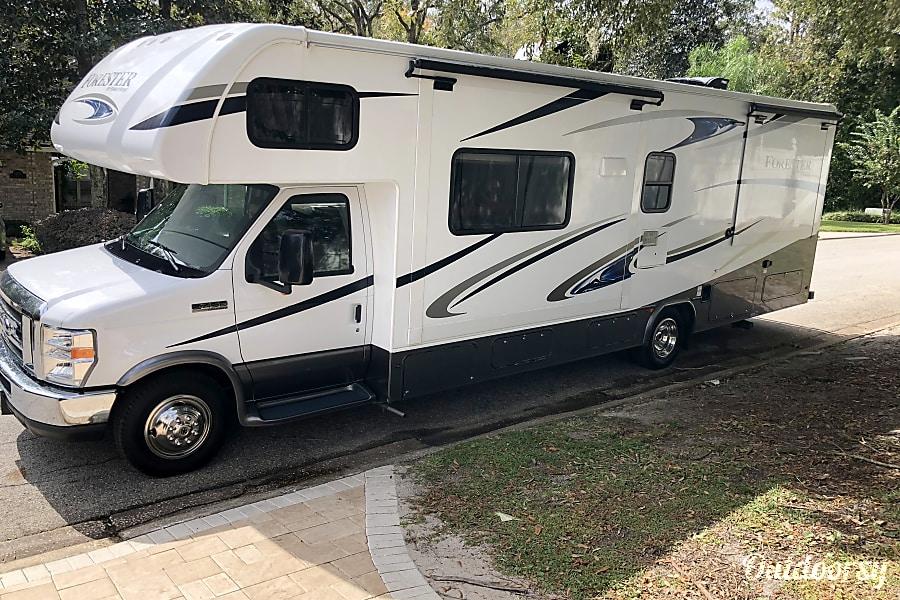 exterior 2018 Forest River Forester Jacksonville, FL