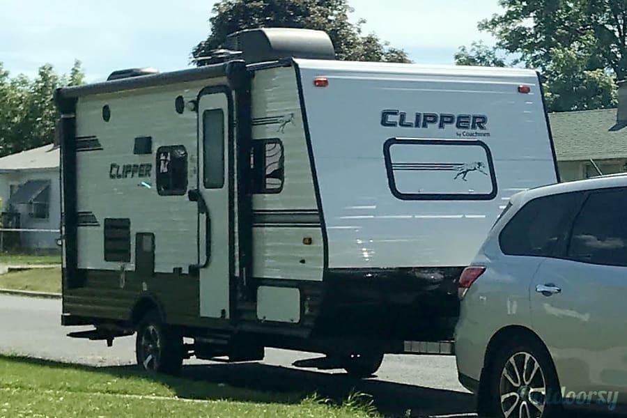 exterior 2018 Coachmen Clipper Spokane, WA