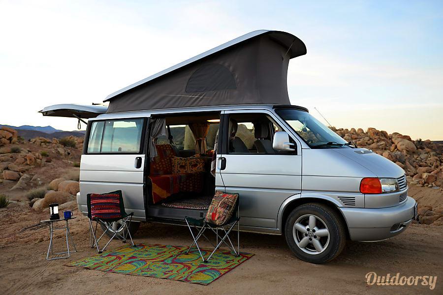 exterior 2002 Volkswagen California Beach Camper Long Beach, CA