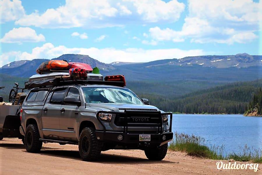 2017 Toyota Tundra Motor Home Truck Camper Rental In
