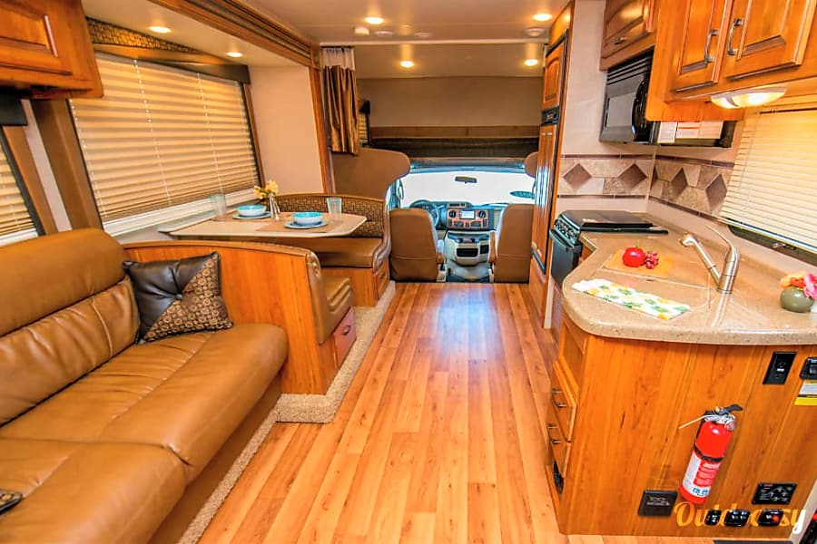 interior Life is a Journey in this spacious Jayco Greyhawk Asheville, NC