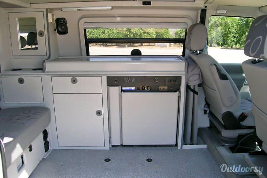 interior Volkswagen Eurovan Pop Top Camper Yucaipa, CA