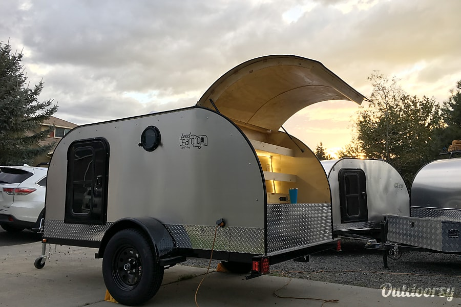 exterior Teardrop Camp Trailer 2018 Bend, OR