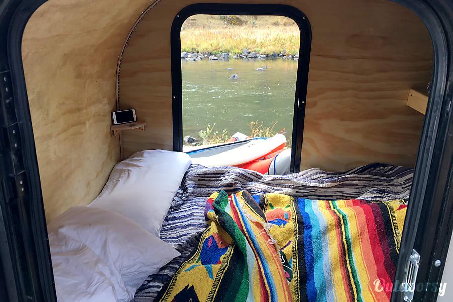 interior Teardrop Camp Trailer 2018 Bend, OR