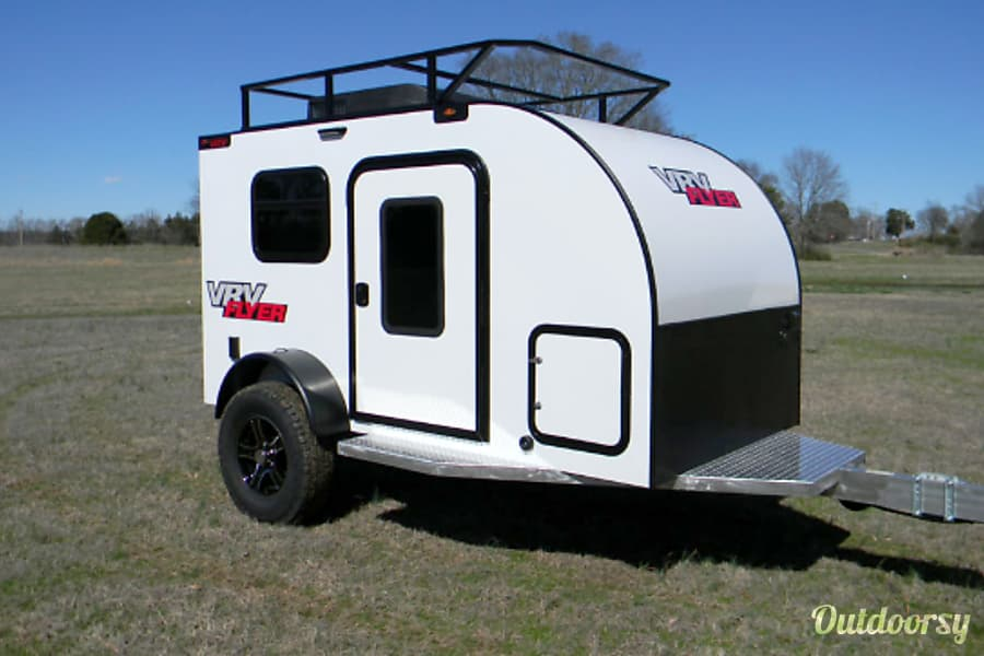 "exterior 2018 Custom Teardrop Camper - (""SKY"") Austin, TX"
