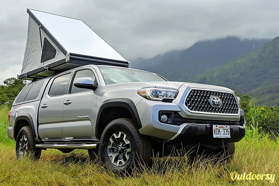 2018 Toyota Tacoma Motor Home Truck Camper Rental In Lihue