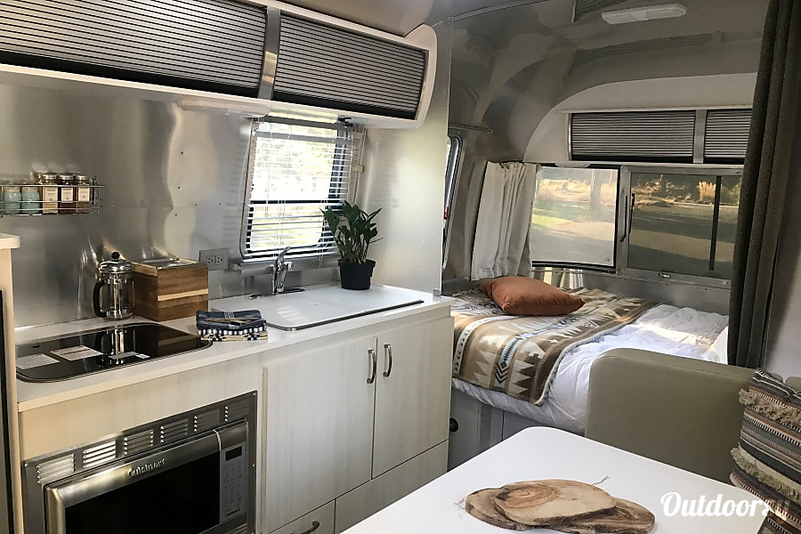 interior Betty- 2017 Airstream Sport BEND, OR