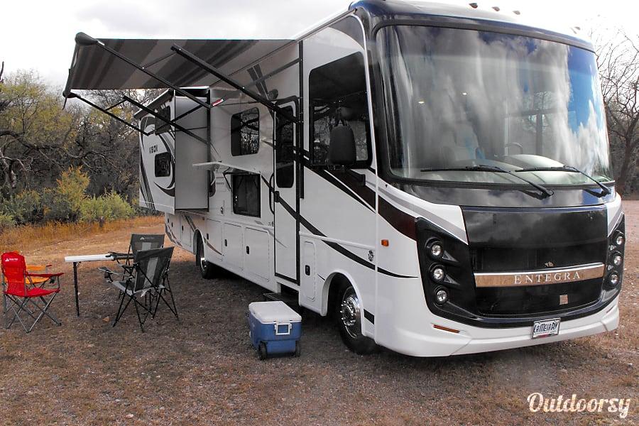 exterior Many Happy Adventures In This Brand New 2019 Entegra Vision That Sleeps 8+ Tucson, AZ