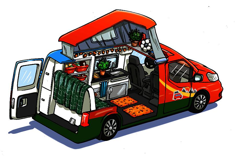 sCAMPer Van 1 Atlanta, GA
