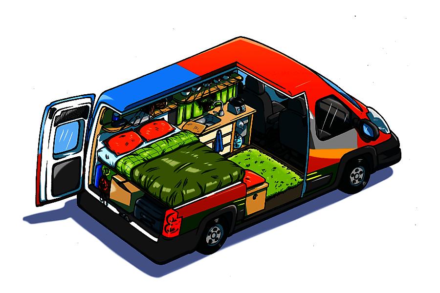 sCAMPer Van 3 Atlanta, GA