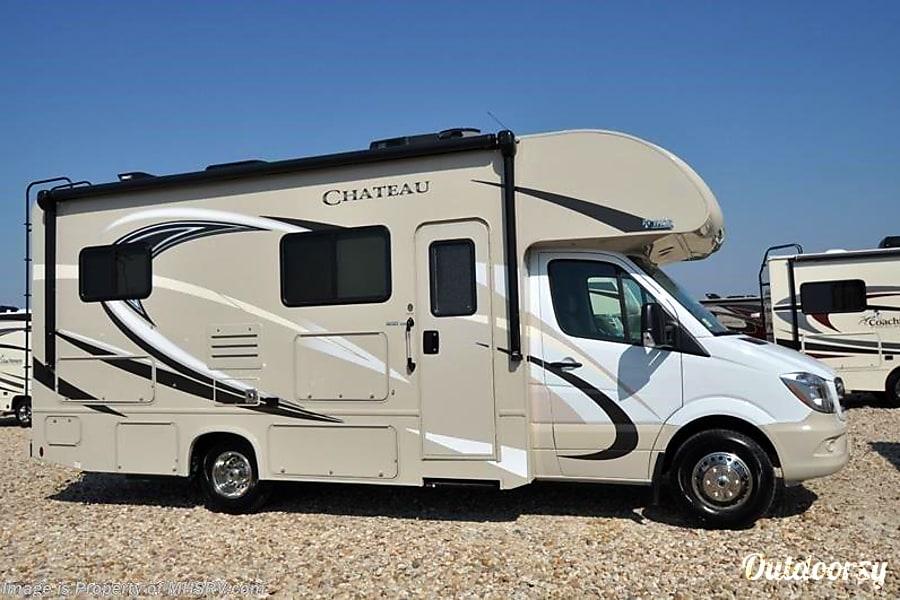 exterior Sprinter 24WS Chateau 2018 Mercedes - Sleeps 1-6 Time to take a ROAD Trip!! Aptos, CA