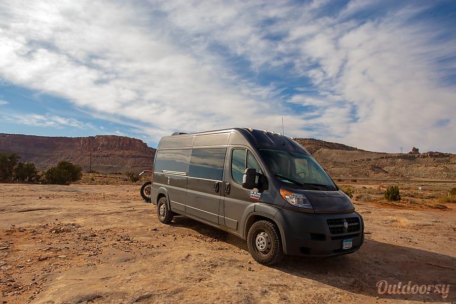 "exterior 2018 Quality Adventure ""BEAR's Van"" Minneapolis, MN"
