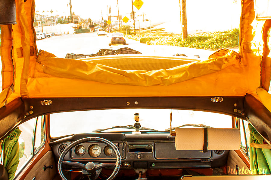 interior 1969 Volkswagen T2 Marina Del Rey, CA