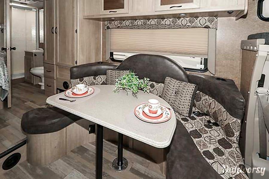 interior 2016 Coachmen Freelander 21QB Centerville, UT