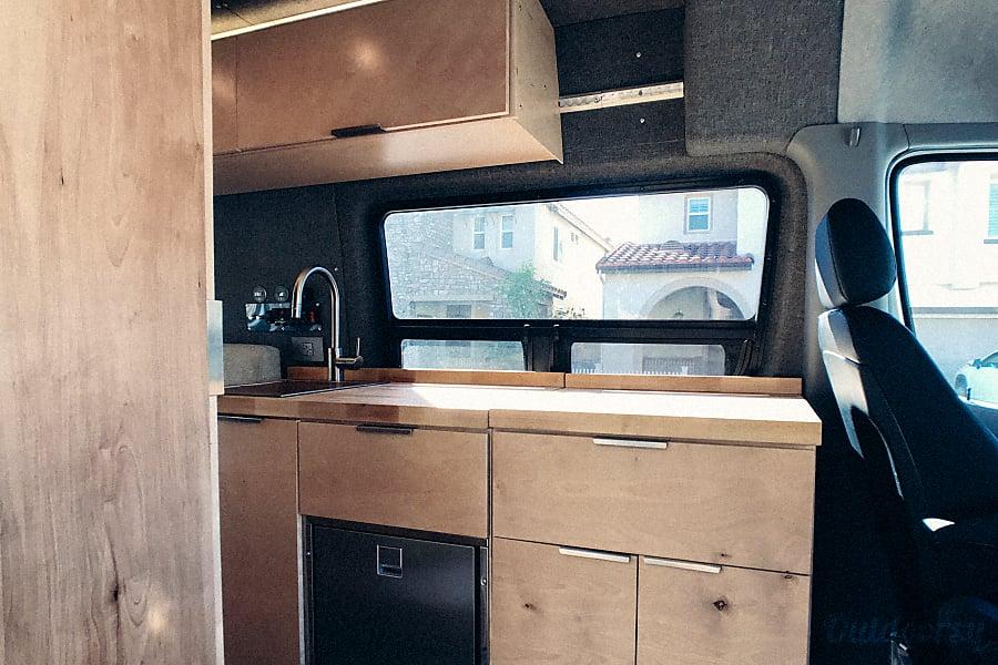 interior 2018 Mercedes-Benz 4x4 Sprinter 2500 Thousand Oaks, CA