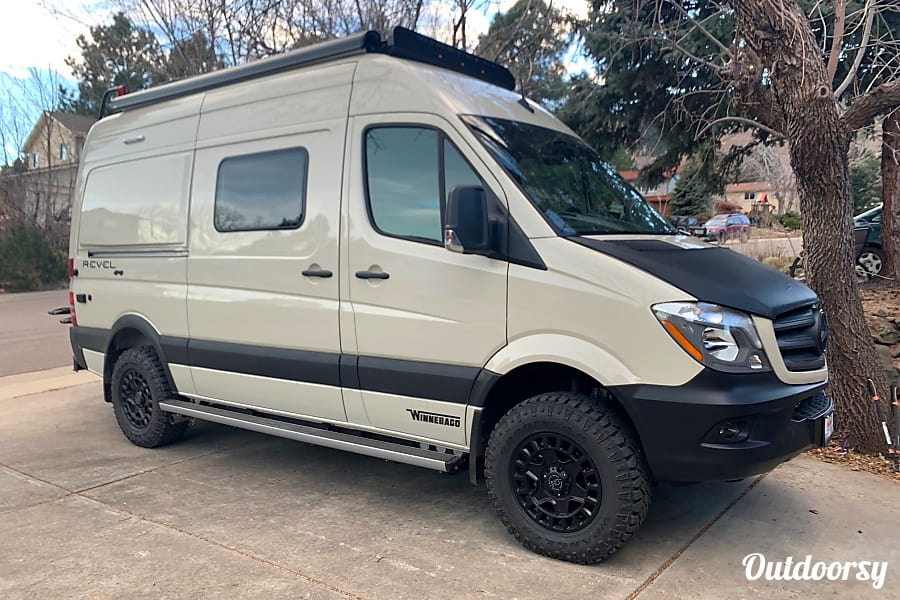 exterior 2019 Winnebago Revel 44E - 4 Seasons Ready for Incredible Adventures Golden, CO