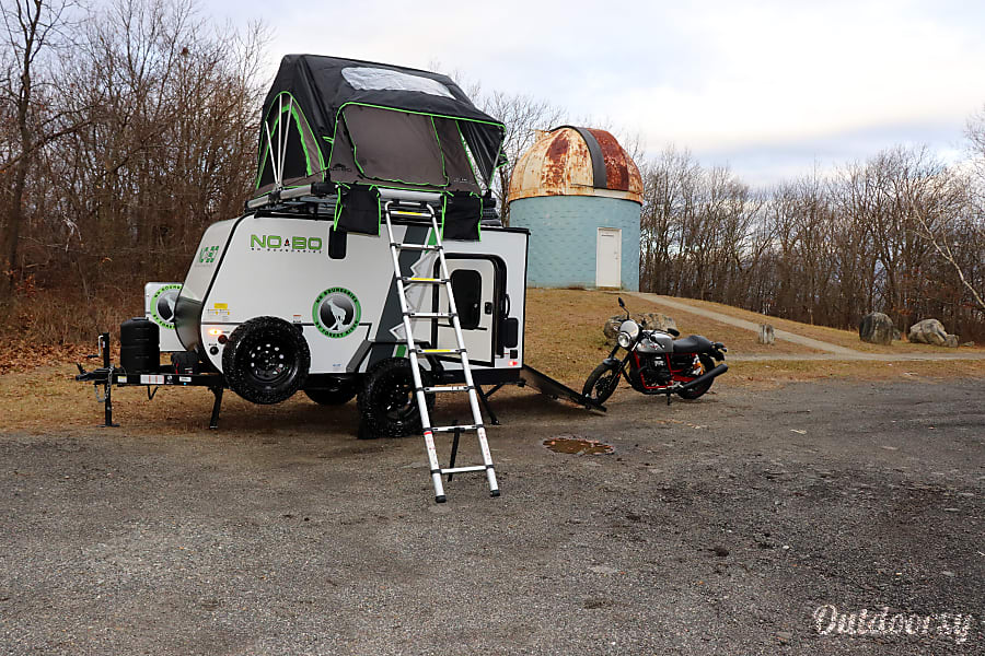 exterior Trailer & Toy Hauler-Loaded--2019 Forest River No Boundaries 10.6- Easy Tow Boonton, NJ