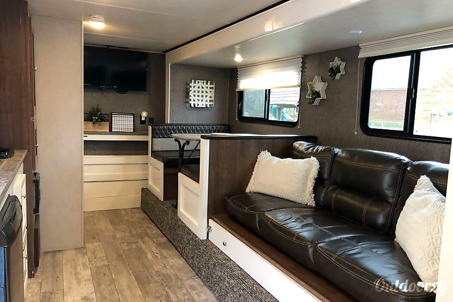interior 2018 Heartland Pioneer Southside, AL