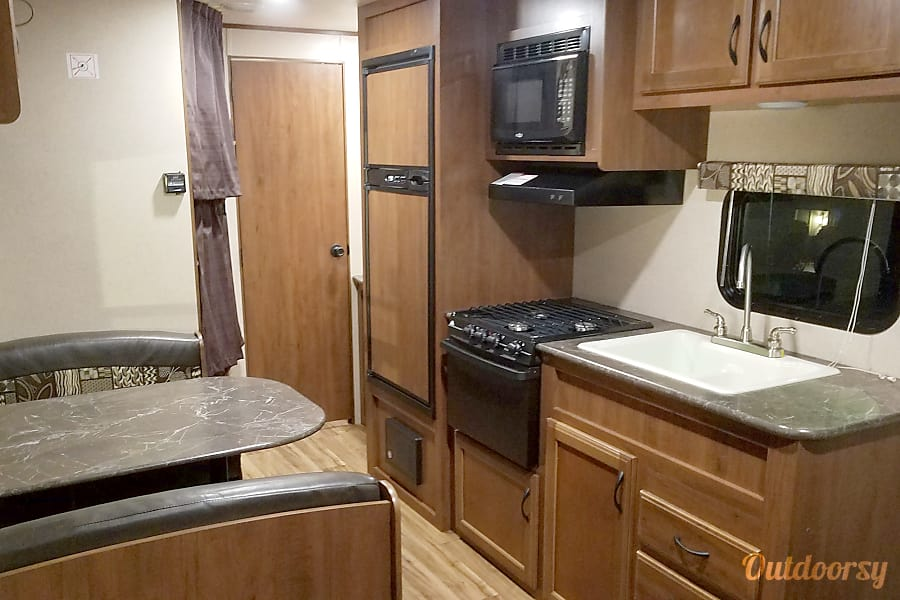 interior 2016 Jayco Jay Flight Austin, TX
