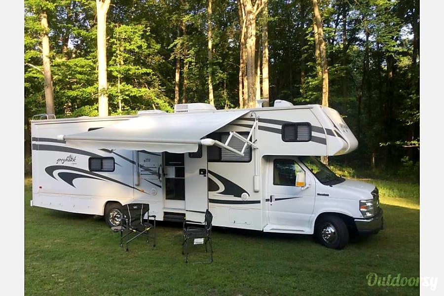 exterior 2009 Jayco Greyhawk Owings, MD