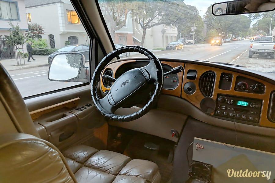 1997 Ford E150 Chariot Hi-Top Conversion Motor Home Camper ...