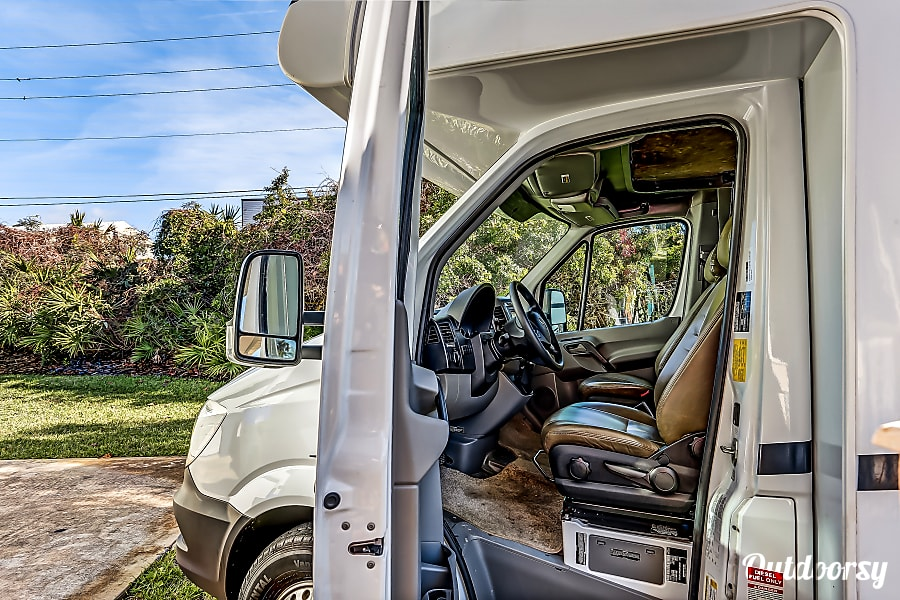 interior 2018 Mercedes-Benz Forest River Forester 2401W St. Augustine, FL