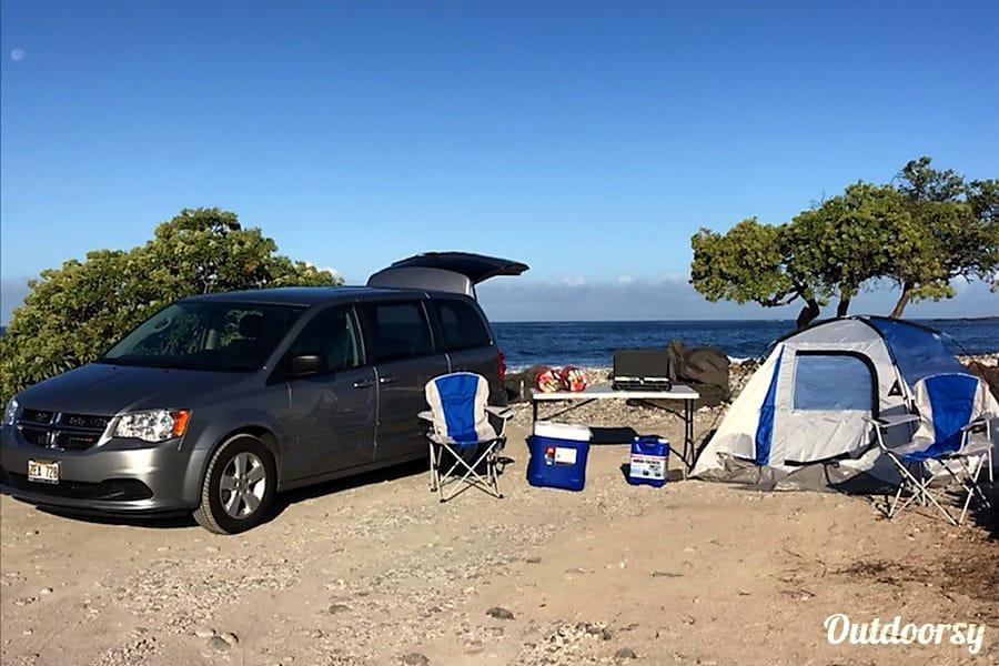 2016 Dodge Grand Caravan plus tent Kailua Kona, HI