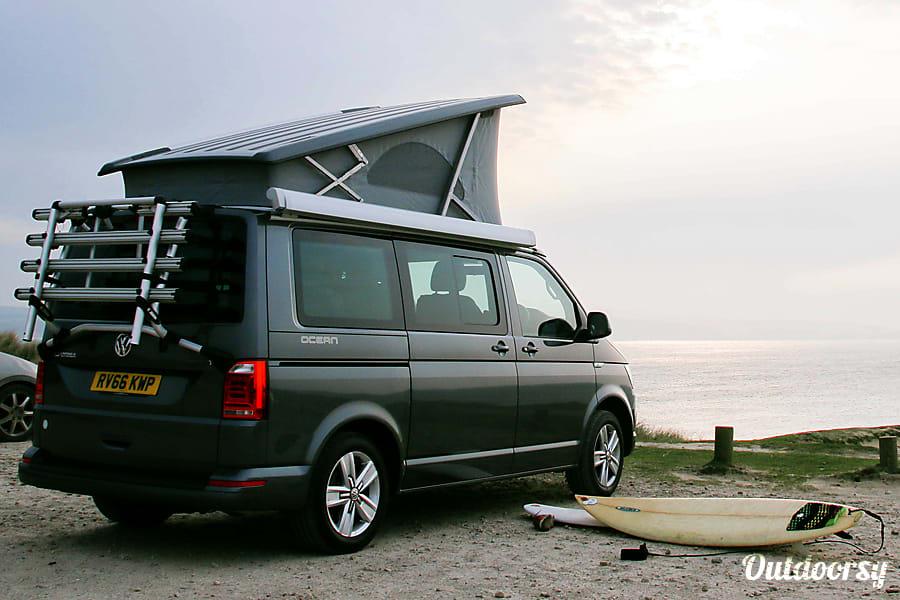 2018 Volkswagen California Ocean Auto Motor Home Camper