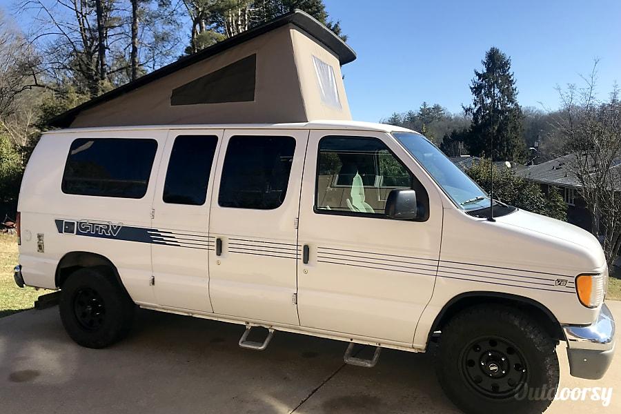 Ford GTRV Westy Poptop Camper Van. Fletcher, NC