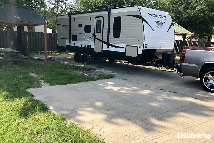 exterior 2018 Keystone Hideout Lufkin, TX
