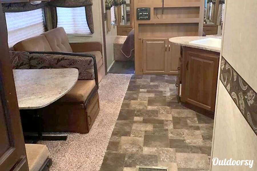 interior Keystone Outback 36ft with bunk room Garner, NC