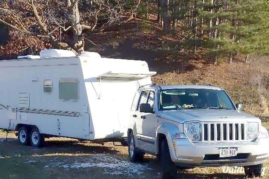 exterior Jayco Hawk Camper Trailer DeForest, WI