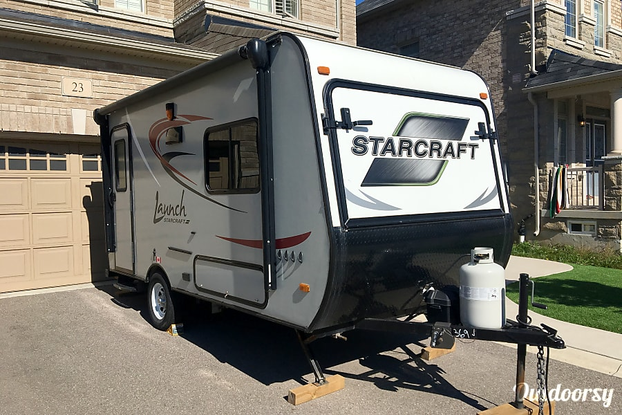 """exterior All the """"Bells & Whistles"""" 2016 Starcraft Launch! Waterdown, ON"""