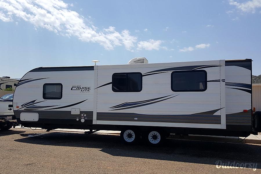 exterior 2016 Forest River Salem Cruise Lite Cedar City, UT