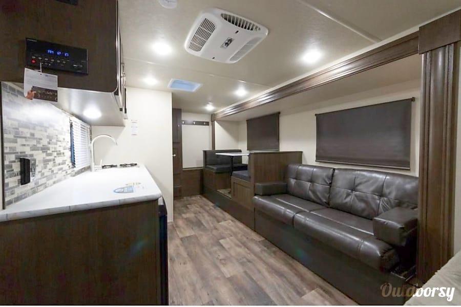 interior 2019 Forest River Salem FSX 190ss Huffman, TX