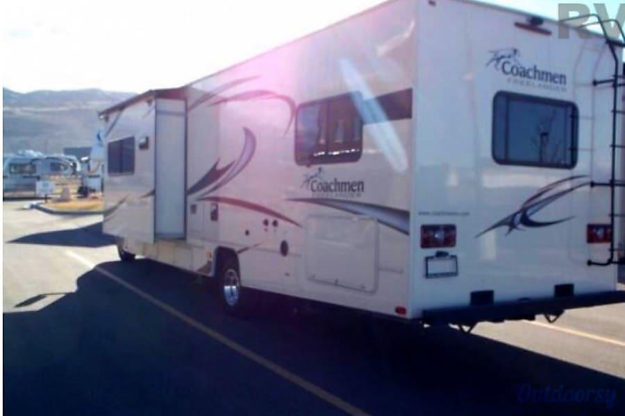 exterior 2016 Coachmen Freelander Rock Springs, WY