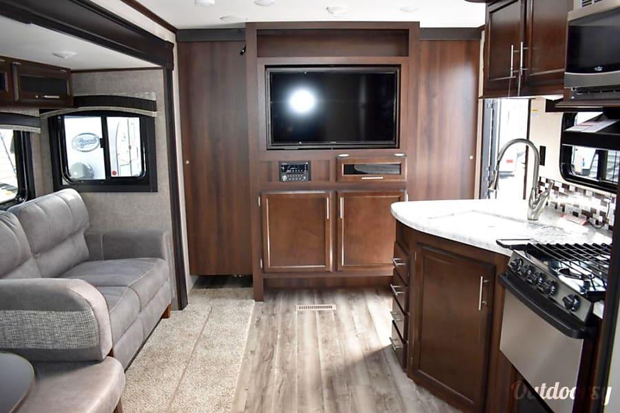 interior 2019 Jayco Jay Flight Virginia Beach, VA