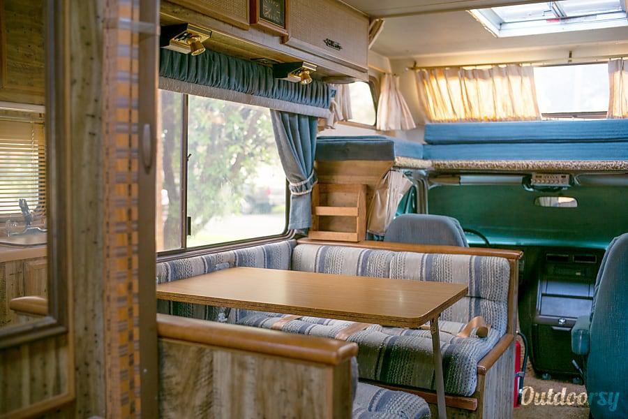 interior The Lazy Daze, 1986 edition Austin, TX