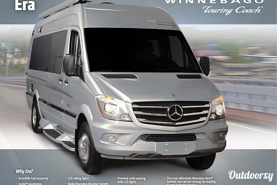 Hotel on Wheels ~ Mercedes-Benz Sprinter Winnebago Era Houston, TX