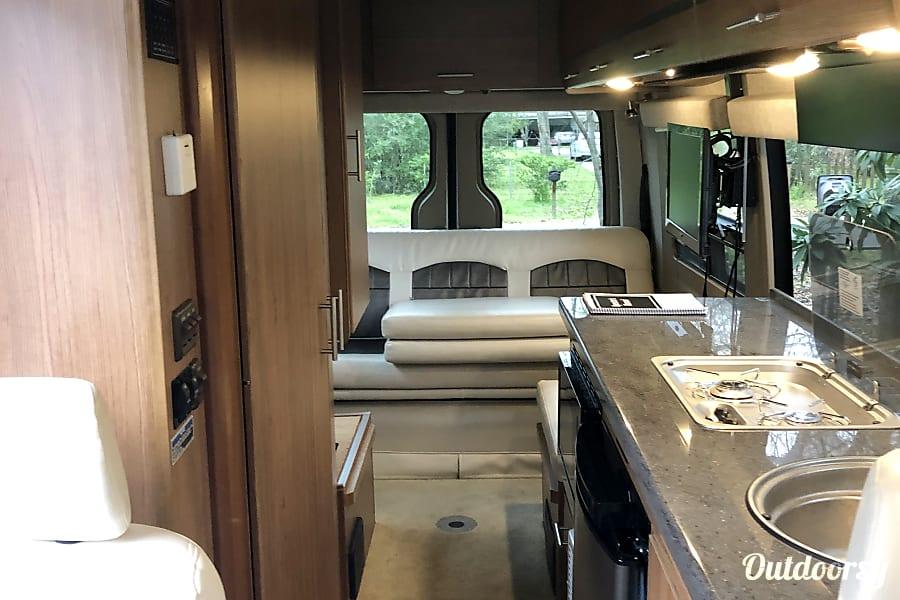 interior Hotel on Wheels ~ Mercedes-Benz Sprinter Winnebago Era Houston, TX