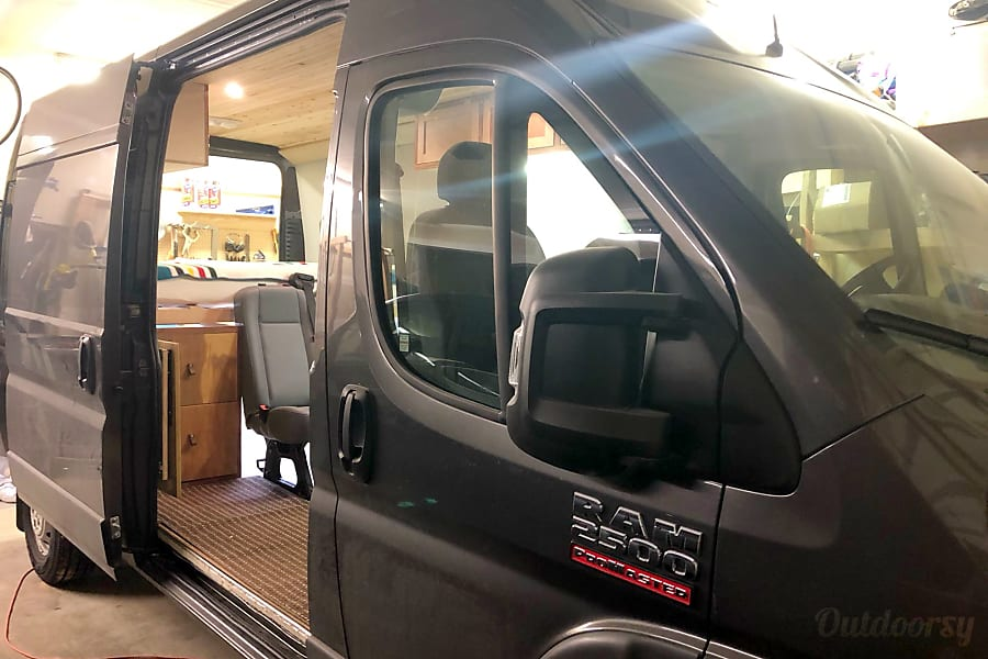 "interior ""Roamer""-- 2018 Ram Promaster 2500 Cle Elum, WA"
