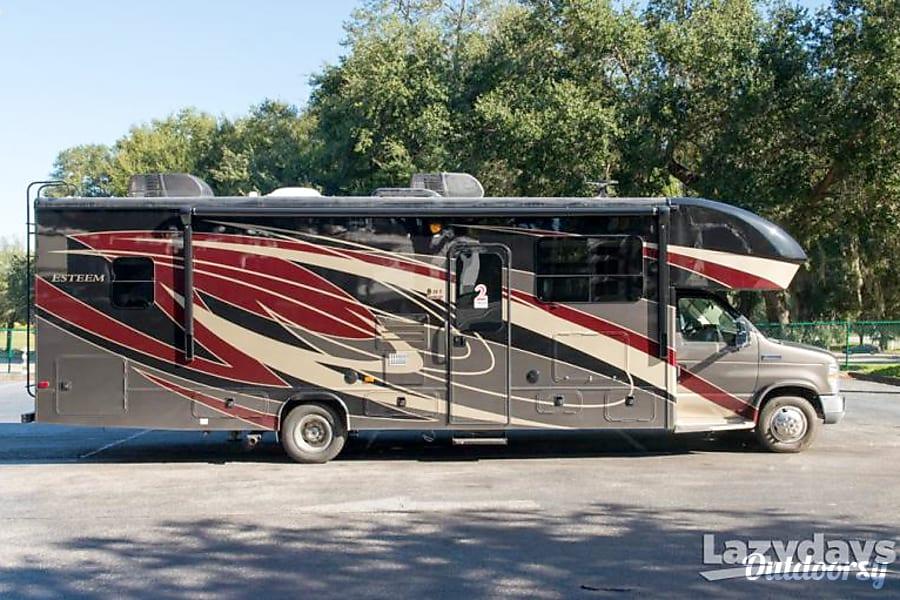 exterior 2019 Entegra Coach Esteem New Franklin, OH