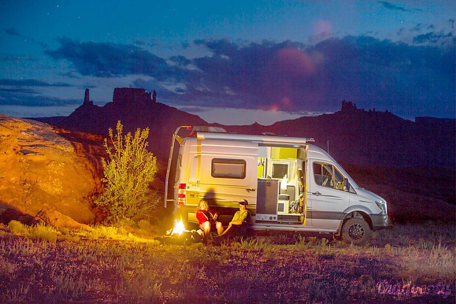 2019 Mercedes-Benz Sprinter Motor Home Camper Van Rental ...