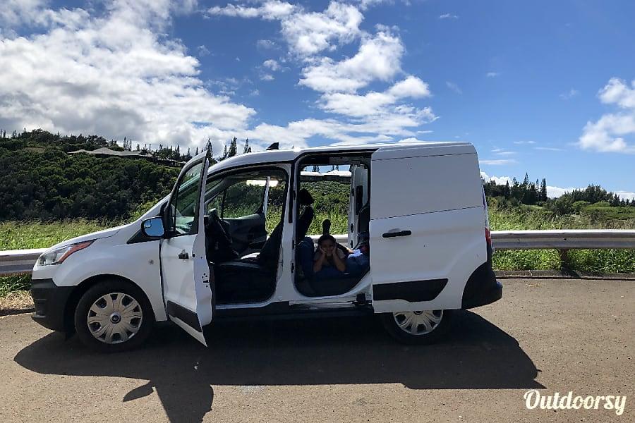 2018 Ford Transit Motor Home Camper Van Rental In Lahaina