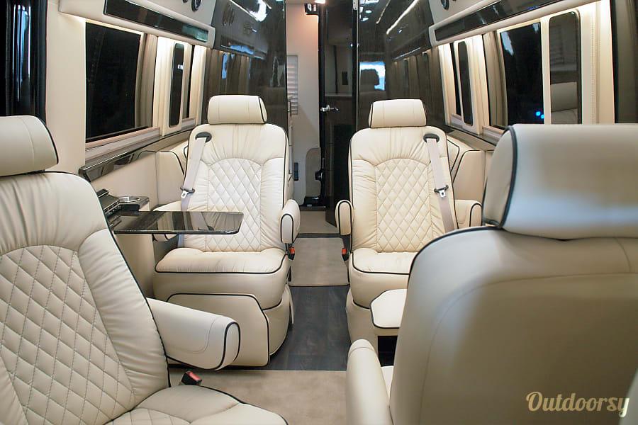 interior 2019 Presidential Custom Mercedes-Benz Sprinter Van Pontiac, MI