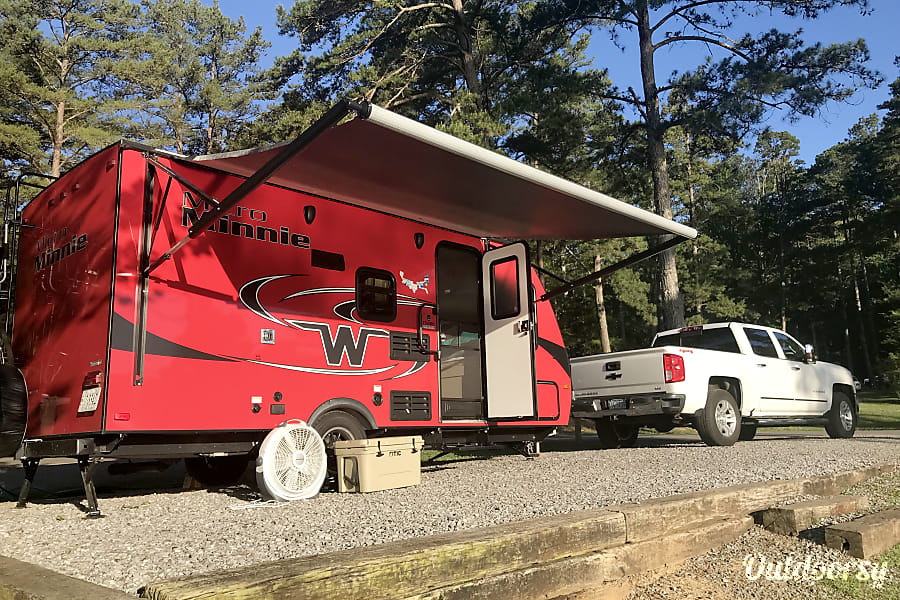 exterior Camp in Style with our 2018 Winnebago Micro Minnie! Huntsville, AL